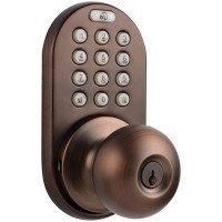 MiLocks(R) XKK-02OB X-Series Interior Doorknob (Oil-Rubbed Bronze)