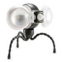 Equipt - EQBPL092 Weather Resistant Multi-Functional Double LED Light with motion Sensor