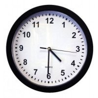 Zone Shield HD Wall Clock Camera